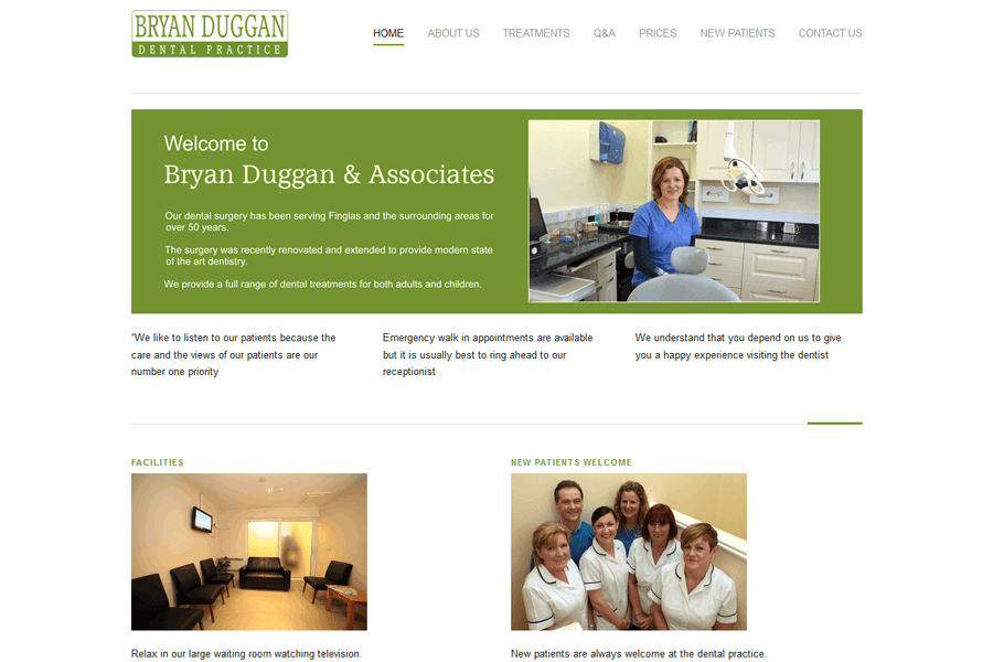 Duggan Dentist Finglas Dublin 11 Website