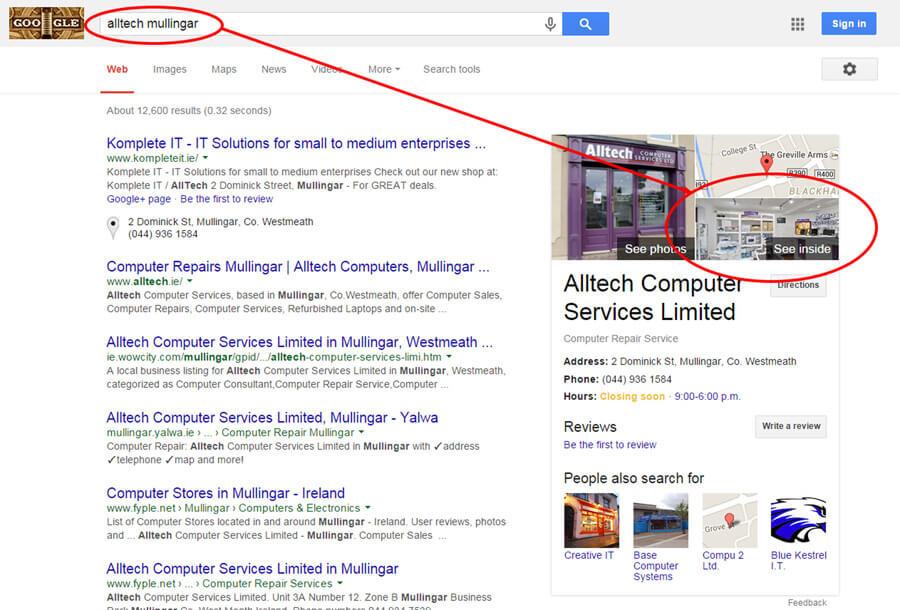 Alltech Mullingar Google Search Result