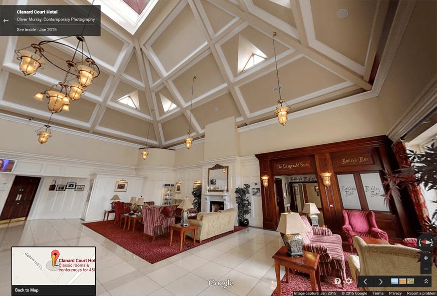 Clanard Court Hotel Google Maps 2