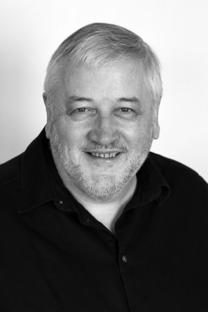 Oliver Murray Portrait - B&W