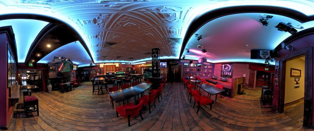 An Pucan Pub Back Bar Music Venue Galway Panorama