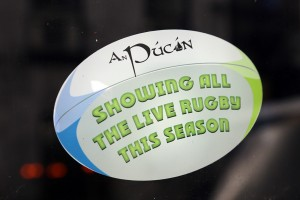An Pucan Pub Galway showing all live rugby_0586