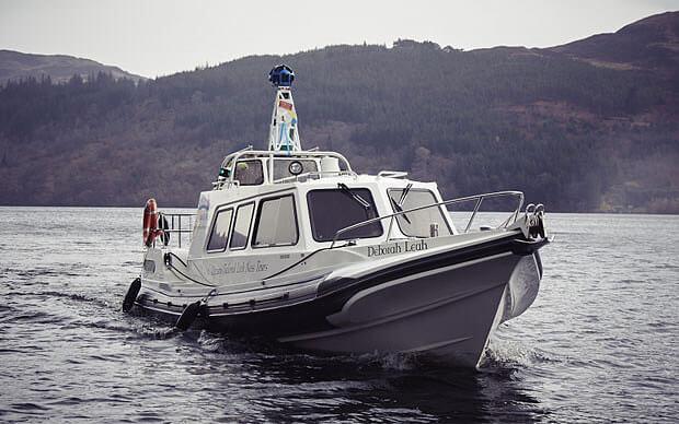 Google Loch Ness Boat