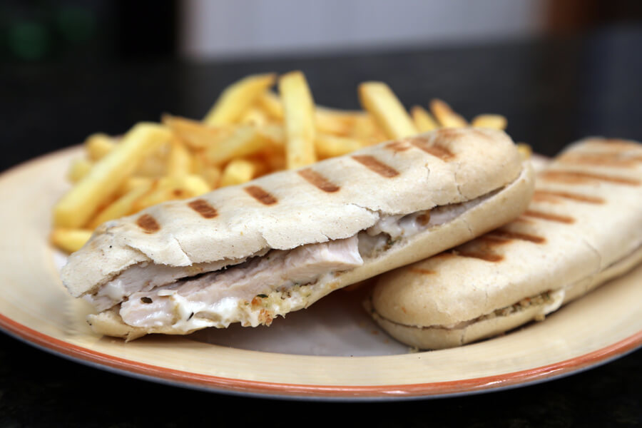 Big_Blue-Barn_Carlow1076 Toasted Pannini and chips