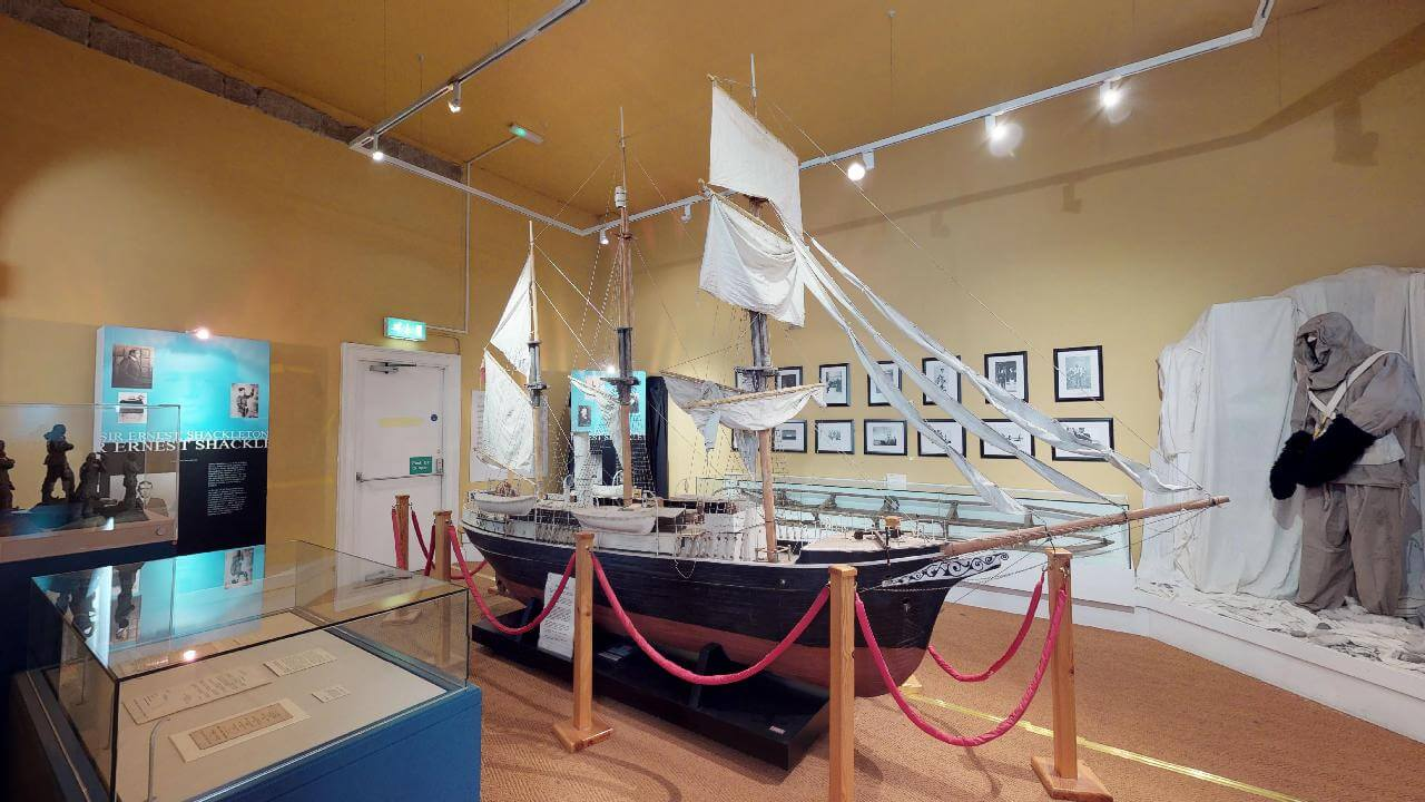 Shackleton-Museum Athy scale model of the Endurance