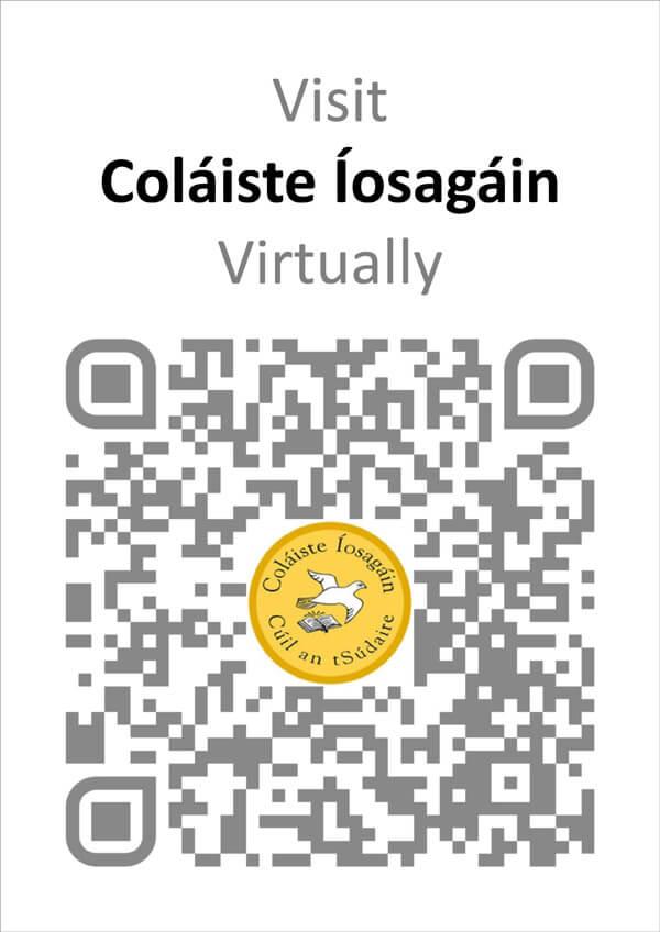 colaiste-iosagain-qr-code-poster